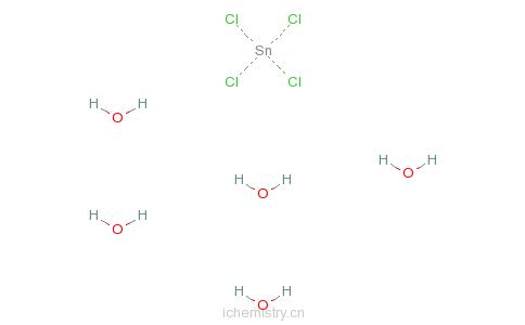 CAS:10026-06-9_四氯化锡的分子结构