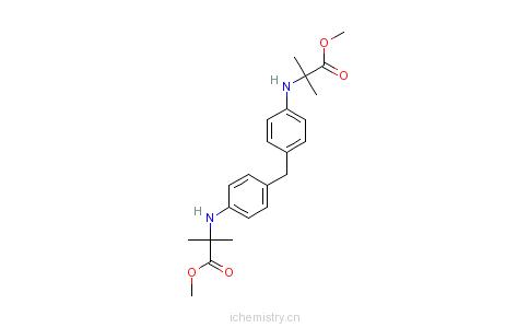 CAS:10029-24-0_N,N'-(亚甲基二-4,1-亚苯基)双(2-甲基-&beta的分子结构