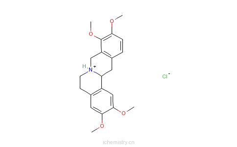 CAS:10097-84-4_罗通定的分子结构