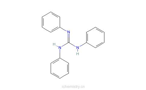 CAS:101-01-9_N,N',N''-三苯基胍的分子结构