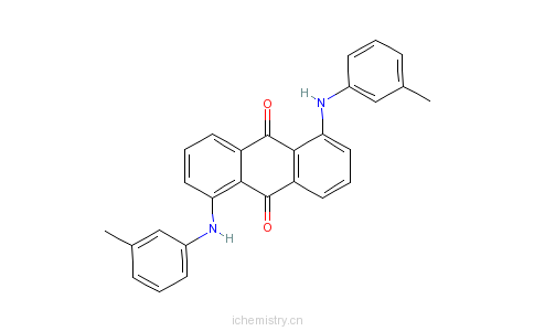 CAS:10114-49-5_溶剂红207的分子结构