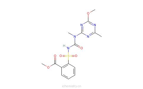 CAS:101200-48-0_苯磺隆的分子结构