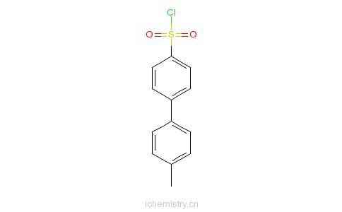 CAS:101366-51-2_4'-甲基联苯-4-磺酰氯的分子结构