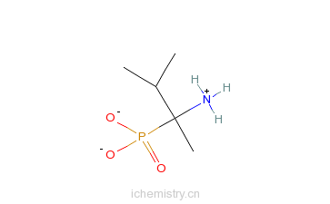 CAS:101804-01-7_1-氨基-1,2-二甲丙基)磷酸水合物的分子结构