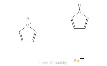 CAS:102-54-5_二茂铁的分子结构