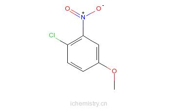 CAS:10298-80-3_4-氯-3-硝基苯甲醚的分子结构
