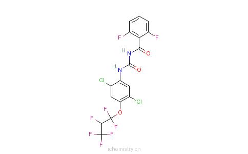 CAS:103055-07-8_禄芬隆的分子结构