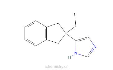 CAS:104054-27-5_阿替美唑的分子结构