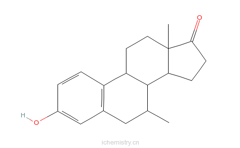 CAS:10448-96-1_阿美雌酮的分子结构