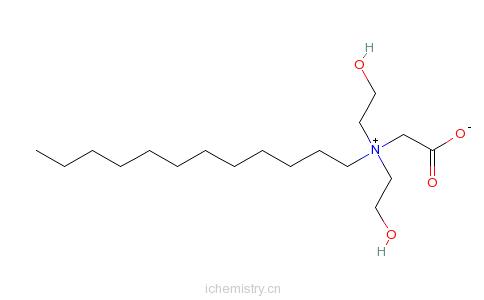 CAS:10471-50-8_N-羧甲基-N,N-双(2-羟乙基)-1-十二烷基铵内盐的分子结构