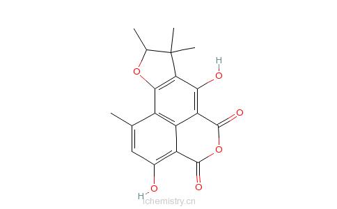 CAS:104855-18-7的分子结构