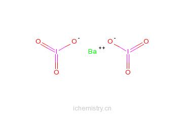 CAS:10567-69-8_一水合碘化钡的分子结构