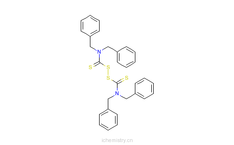 CAS:10591-85-2_二硫化四苄基秋兰姆的分子结构