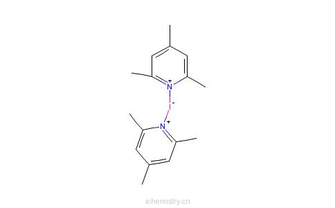 CAS:113119-46-3_双(2,4,6-三甲基吡啶)碘六氟磷酸盐的分子结构