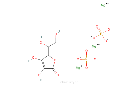CAS:113170-55-1_维生素C磷酸酯镁的分子结构