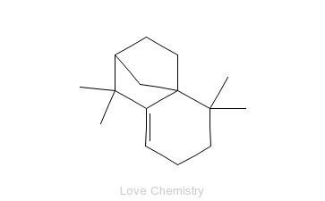 CAS:1135-66-6_异长叶烯的分子结构