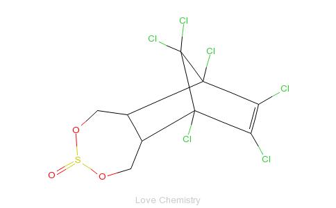 CAS:115-29-7_硫丹的分子结构