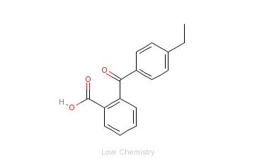 CAS:1151-14-0_2-(4-乙基苯甲酰)苯甲酸 [1151-14-0]的分子结构