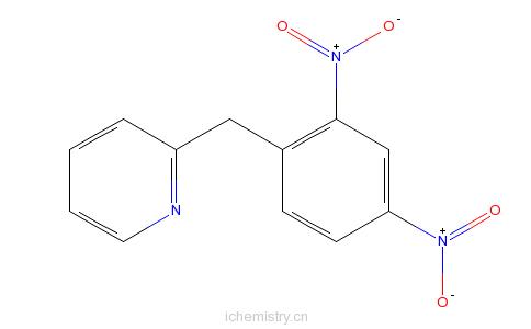 CAS:1151-97-9_2-(2,4-二硝基苯甲基)吡啶的分子结构