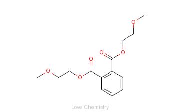 CAS:117-82-8_邻苯二甲酸二甲氧乙酯的分子结构