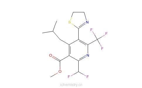 CAS:117718-60-2_噻草定的分子结构