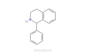CAS:118864-75-8_(S)-1-苯基-1,2,3,4-四氢异喹啉的分子结构