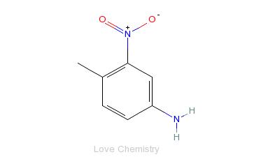 CAS:119-32-4_4-甲基-3-硝基苯胺的分子结构