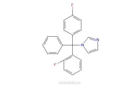 CAS:119006-77-8_氟曲吗唑的分子结构