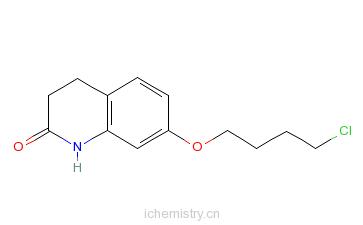 CAS:120004-79-7_3,4-二氢-7-(4-氯丁氧基)-2(1H)-喹啉酮的分子结构