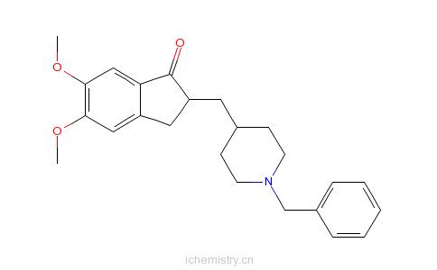 CAS:120014-06-4_多奈哌齐的分子结构