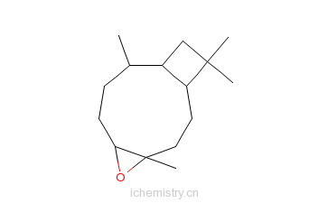 CAS:1209-61-6_4,9,12,12-四甲基-5-氧杂三环辛烷[8.2.0.04,6]十二烷的分子结构