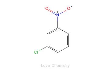 CAS:121-73-3_3-硝基氯苯的分子结构