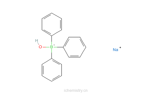 CAS:12113-07-4_三苯基硼氢氧化钠加合物的分子结构