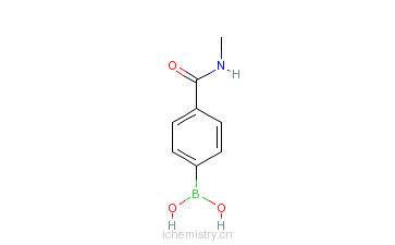 CAS:121177-82-0_4-(N-甲基甲酰氨)苯基硼酸的分子结构