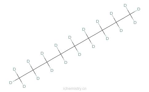 CAS:121578-11-8_壬烷-d20的分子结构