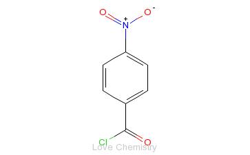 CAS:122-04-3_4-硝基苯甲酰氯的分子结构