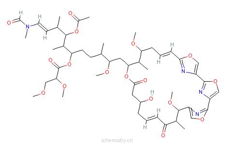 CAS:122752-21-0_MYCALOLIDE B的分子结构