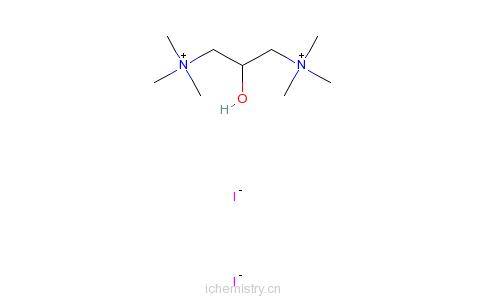 CAS:123-47-7_普鲁碘胺的分子结构
