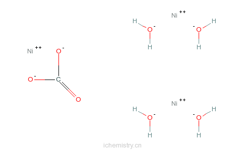 CAS:12607-70-4_[碳酸]四羟基三镍的分子结构
