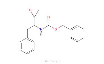 CAS:128018-44-0_(2S,3S)-1,2-环氧-3-苄氧羰基氨基-4-苯基丁烷的分子结构