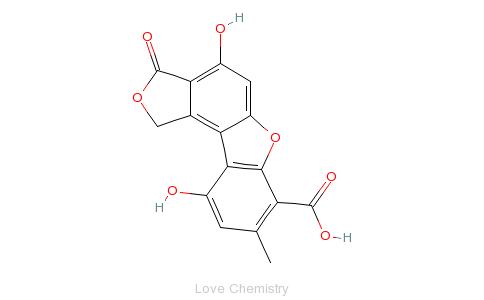 CAS:129-65-7的分子结构
