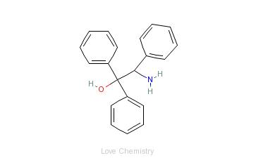 CAS:129704-13-8_(S)-(?)-2-氨基-1,1,2-三苯乙醇的分子结构