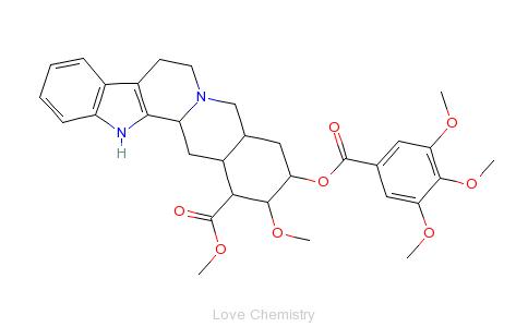 CAS:131-01-1_地舍平的分子结构