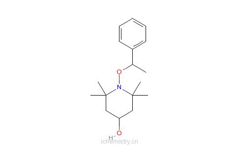 CAS:132416-36-5_2,2,6,6-四甲基-1-(1-苯基乙氧基)的分子结构