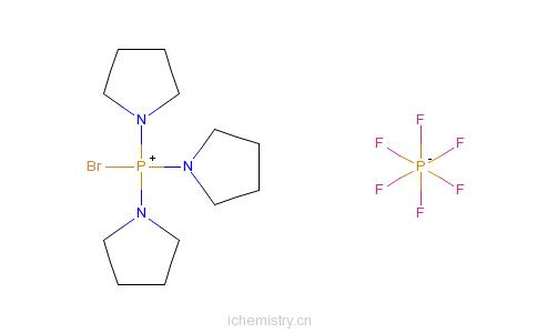 CAS:132705-51-2_PyBroP的分子结构
