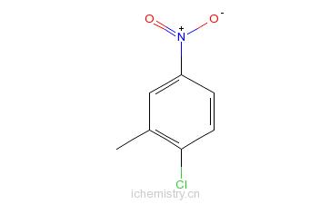 CAS:13290-74-9_2-氯-5-硝基甲苯的分子结构