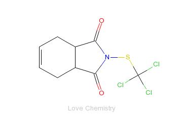 CAS:133-06-2_克菌丹的分子结构