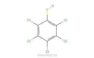 CAS:133-49-3_五氯苯硫酚的分子结构