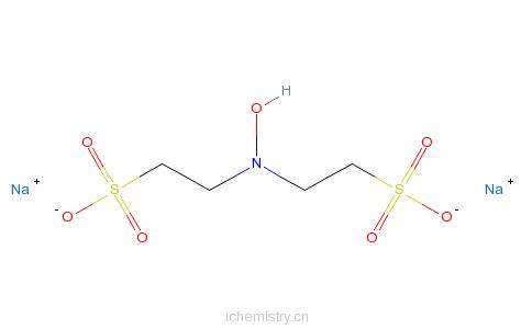 CAS:133986-51-3_N,N-二乙磺基羟胺二钠盐的分子结构