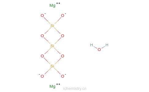 CAS:1343-90-4的分子结构